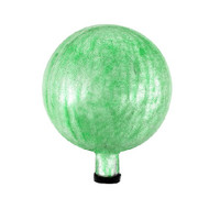 "Achla 6"" Gazing Globe Ball Light Green Crackle G6-LG-C"