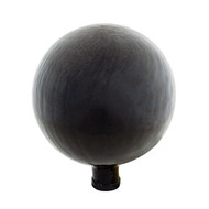 "Achla 6"" Gazing Globe Ball Black Smoke Crackle G6-BSM-C"