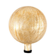 "Achla 6"" Gazing Globe Ball Apricot Ice Crackle G6-AP-C"