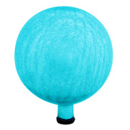 "Achla 12"" Gazing Globe Ball Teal Crackle G12-T-C"