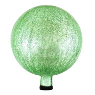"Achla 12"" Gazing Globe Ball Light Green Crackle G12-LG-C"