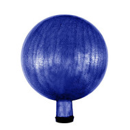 "Achla 12"" Gazing Globe Ball Blue Crackle G12-BL-C"
