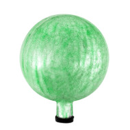 "Achla 10"" Gazing Globe Ball Light Green Crackle G10-LG-C"