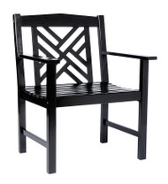 Achla Fretwork Arm Chair  OFC-10B