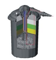 EasyPro 4000 Gallon Pressurized Filter 13 watt UV EAPRECF40U
