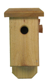 Bird-N-Hand Wood Cedar Bluebird Birdhouse Decorative Bird House SM32