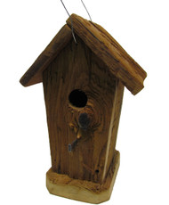 Bird-N-Hand Natural Wood The Corncrib Birdhouse Decorative Bird House RBH40