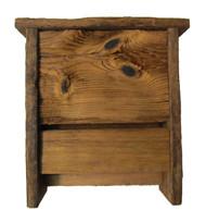 Bird-N-Hand Natural Wood The Bathouse Decorative Bat House RBH42