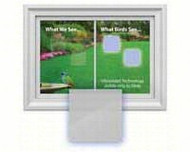 Window Alert Square Decal Prevent Bird Strikes 4 per package ( WINDA8)
