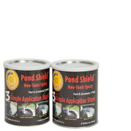 Pond Armor Pond Shield Non-Toxic Epoxy Pond Liner & Sealer 1.5 Gallons Black, Competition Blue, Clear, Gray, Green, Tan and White Colors