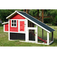 Merry Pet Habitat Red Chicken Coop PH0030010402