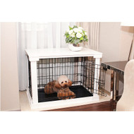 Merry Pet Decorative Dog Pet Cage with Crate Cover Large PTH0251720100
