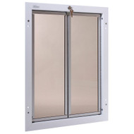 PlexiDor Performance Pet Door Dog Door PD DOOR XLARGE WH WHITE