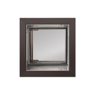 PlexiDor Performance Pet Door Dog Door PD WALL SMALL BR BRONZE