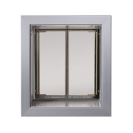 PlexiDor Performance Pet Door Dog Door PD WALL MEDIUM SV SILVER