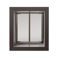 PlexiDor Performance Pet Door Dog Door PD WALL MEDIUM BR BRONZE