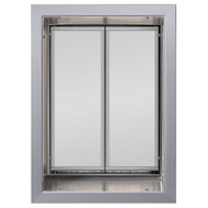 PlexiDor Performance Pet Door Dog Door PD WALL XLARGE SV SILVER