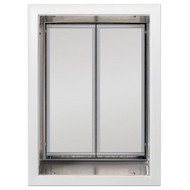PlexiDor Performance Pet Door Dog Door PD WALL XLARGE WH WHITE