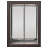 PlexiDor Performance Pet Door Dog Door PD WALL XLARGE BR BRONZE