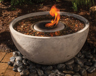 "Aquascape Fire Fountain 78202 Medium Overall Dimensions 28"" Diameter 14"" H"