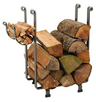 Enclume KR1A Large Rectangular Log Rack  Hammersteel Steel Firewood Rack