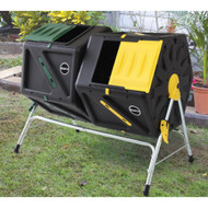 Miracle Gro 56 Gallon Dual Chamber Tumbling Composter M001