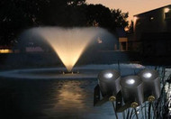 Kasco Marine Water Glow Fountain LED 3 Light Fixture Set 11 Watt With 250ft. Power Cord