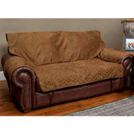 Solvit Loveseat Full-coverage Protector - Cocoa 62375