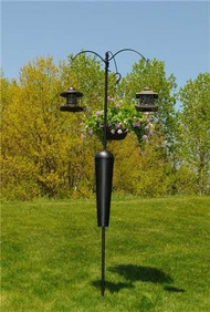 LPI Squirrel Stopper Shenandoah Bird Feeder Pole System SPB09