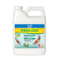 API Pond Care Stress Coat Plus 32 oz. Fish and Water Conditioner 140 G