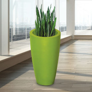 Mayne Modesto 42 inch Tall Planter Macaw Green 8881-MG