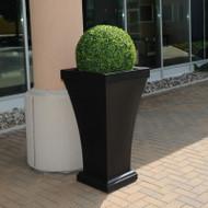Mayne Bordeaux 40 Inch Tall Planter Espresso 8802-ES
