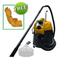 Matala Power Cyclone Pond Vacuum Continuous Pond Vac With Power Discharge With Gravel Head Attachment PLUS FREE Atlas Pond Gloves (Copy of MPC-VAC)