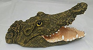 Dalen Floating Alligator Head Decoy With Open Month Naturally Deter Herons & Geese FALG4