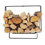 Enclume Indoor/Outdoor Small Black Powder Coat Rectangular Fireplace Log Rack LR36BK