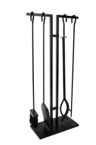 Enclume Habitat 4 Pc Fireplace Tool Set Black fpts4-bk