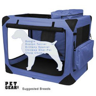 Pet Gear Generation II Sift Crate with Pad and Treat Bag Light Lavender PG5530LV