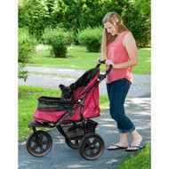 Pet Gear at3 NO-ZIP Pet Stroller RUGGED RED PG8350NZRR
