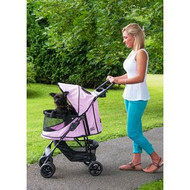 Pet Gear Happy Trails NO-ZIP Pet Stroller PINK DIAMOND PG8100NZPD