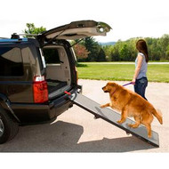 Pet Gear Full Length Tri-Fold Pet Ramp Grey / Black PG9300DR