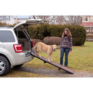 Pet Gear Full Length Tri-Fold Pet Ramp Chocolate / Black TL9371CH