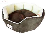 Armarkat Cator Dog Bed Mocha & Beige C01HKF/MH