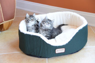 Armarkat Cat or Dog Bed Laurel Green & Ivory C04HML/MB