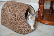 Armarkat Cat or Dog Bed Laurel Bronzing & Beige C11HBW/MH