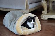 Armarkat Cat or Dog Bed Laurel Sage Green & Beige C15HHL/MH