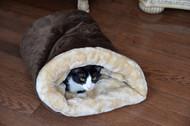 Armarkat Cat or Dog Bed Laurel Mocha & Beige C15HKF/MH