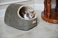 Armarkat Cat or Dog Bed Laurel Green & Beige C18HML/MH