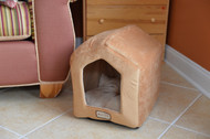 Armarkat Cat or Dog Bed Brown & Beige C27CZS/MH