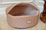"Armarkat Cat or Dog Bed 17"" Light Apricot C33HFS/FS-S"