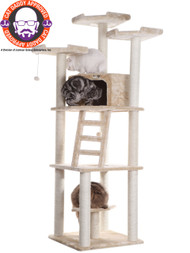 "Armarkat Extra Large >76"" Classic Cat Tree SILVER GRAY A8001"